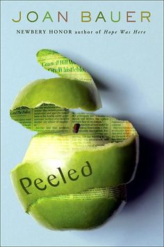 Peeled by Joan Bauer. An English Festival book in 2010.