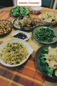 Vegetarian food during Chinese New Year. I was surprised of this when I spent Chinese New Year with locals.