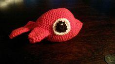 Lille fisk..   Dejlig nem til at øve indtagningen og udtagningen :)