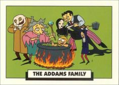 The Addams Family cartoon series Makes me lol everytime; I kno a gal who looks so much like Granny its hilarious :P