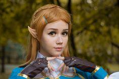 Zelda by Komori from Russia #botw Legend Of Zelda Characters, Russia, Cosplay, Deviantart, Hot, People, Model, Beautiful, Folk