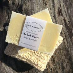 Real Castille soap Organic Olive oil gentle mild by PureNakedSoap #purenakedsoap #etsyfinds #organicsoap