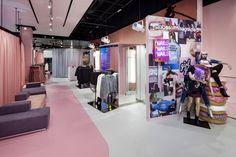 Missguided Westfield Stratford store by Dalziel-Pow London UK