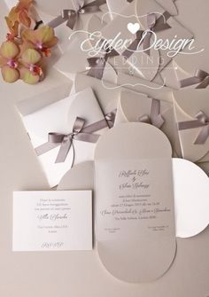 Partecipazioni linea Chic - EYDER DESIGN Wedding Stationery & much more