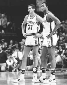 Sam Bowie and Melvin Turpin - 1983