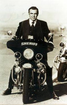 Sean Connery - Moto Guzzi