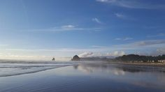 Haystack Rock At Tolovana Park Print  by Melissa Coffield