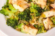 One-Skillet Chicken and Broccoli Recipe