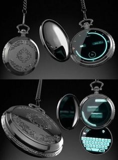 Old pocket watches are making a real comeback - living ideas and .- Alte Taschenuhren erleben ein echtes Comeback – Wohnideen und Dekoration Old pocket watches are experiencing a modernizing rebirth smart watch with touchscreen - Futuristic Technology, Technology Gadgets, Technology Design, Digital Technology, Cool Technology Gifts, Medical Technology, Energy Technology, Gadgets And Gizmos, Cool Gadgets