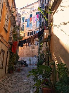 Corfu Island, Old Town, Greece, Corfu, Old City, Greece Country
