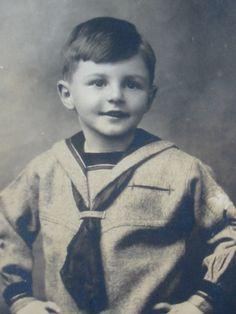 antique sailor suit