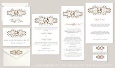 Freya Wedding Logo Wedding Logos, Wedding Signage, Card Envelopes, Monograms, Thank You Cards, Initials, Symbols, Invitations, Bride