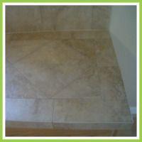 Ceramic tile counter top kitchen