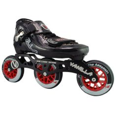 Vanilla Assassin Jr Inline Skates - Vanilla Assassin Jr Speed Skates by Vanilla. $209.00. Vanilla Assassin Jr Inline Skates - Vanilla Assassin Jr Speed Skates - Check out the brand new inline speed skates from Vanilla Skates - the Vanilla Assassin Junior! The Vanilla Assassin Junior! speed inline skates are perfect for everyone who loves inline skates from the casual recreational skater to the inline speed racing skater. The Vanilla Assassin Junior inline skate...