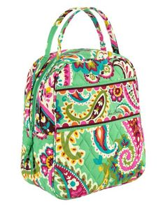 Lunch Bunch | Vera Bradley love the pattern but maybe on a backpack?