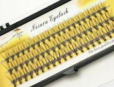 Wholesale individual flare false mink eyelash extension with knot