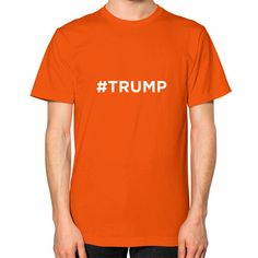 Donald Trump for President. - American Apparel. - Fine Jersey Short Sleeve T-Shirt. - Soft 100% Cotton construction. - Double rib neckband. - Men's and Women's Size Chart. - Made in America.