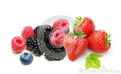 Raspberry, Strawberry And Blueberry Isolated - Download From Over 24 Million High Quality Stock Photos, Images, Vectors. Sign up for FREE today. Image: 40455275