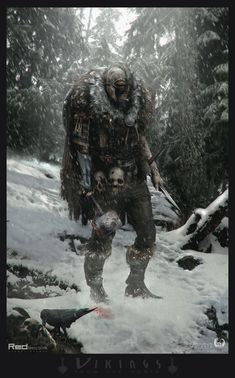 Post with 1346 votes and 90035 views. Knight Viking and samurai Armors Vikings, Conceptual Drawing, Viking Designs, Tribal Warrior, Concept Art World, Samurai Armor, Viking Symbols, Viking Age, Medieval Fantasy