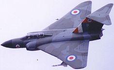 Gloster Javelin of 5 Sqn RAF