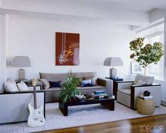 Celebrity Living Rooms - ELLEDecor.com
