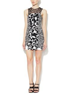 Animal Mechanical Printed Dress by French Connection on sale now on Gilt.