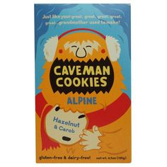 Caveman Cookies Gluten