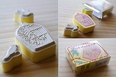 umla:  bird stamps by karaku* on Flickr.