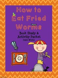 This book study and activities packet for How to Eat Fried Worms is sure to keep your students engaged in this award winning novel! You can use all of it or you can pick and choose.The comprehension skills activities make good mini-lessons and/or reviews.