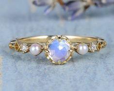 HANDMADE RINGS & BRIDAL SETS by MoissaniteRings on Etsy Bridal Ring Sets, Handmade Rings, Gold Rings, Rose Gold, Engagement Rings, Bracelets, Etsy, Jewelry, Ship