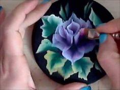"""Dipingere una rosa (tecnica """"One Stroke"""") - Talentissimo.it"""
