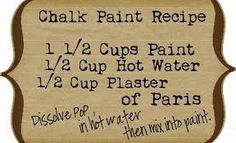 DIY beautify: Chalk Paint 101 and Chalk Paint Companies