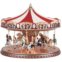 carousel ponies | Gold Label World's Fair Carousel