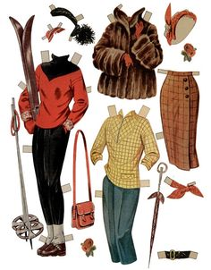 Her finder du herligt påklædningsdukketøj til Birgitte Reimer og Lily Broberg-dukkerne.......SET-88