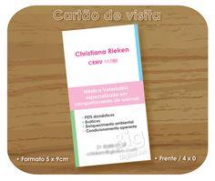 Cartão de visita • Veterinária