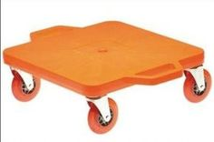 A butt scooter: OMG I actually felt a very real pang of nostalgia remembering scooting all over my school on one of these at a lock-in...