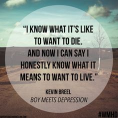 """""""Boy Meets Depression' For World Mental Health Day we look at Kevin Breel's journey with depression. #WMHD #WMHD15"""