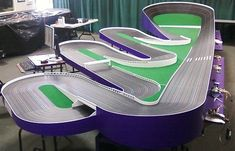HO Soverign Purple Mile. Located at Len-jet raceway in Massachusetts