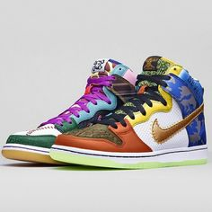 """Find out how much money was raised by the Nike SB Dunk High """"What The Doernbecher"""" on KicksOnFire.com."""