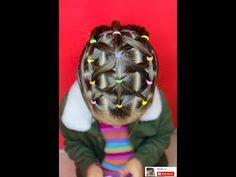 Peinado fácil para niña / Easy hairstyle for girl ❤ - YouTube