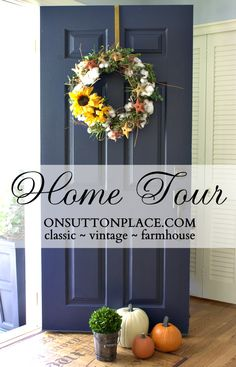Take this home tour and see how the homeowner took a 1960's house and added classic, farmhouse elements.