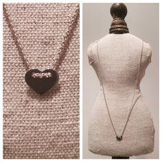 Necklace HEART Washer Necklace, Jewelery, Heart, Fashion, Schmuck, Jewelry, Moda, Jewels, Bijoux