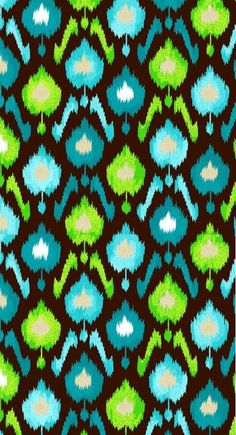 Creative Cuts Ikat Blooms Canvas Fabric By The Yard, Blue by LaCreekBlue on Etsy