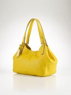 RALPH LAUREN Chandler Leather Hobo - Lauren Lauren Handbags - RalphLauren.com  Ralph Lauren Bags c766a547bf95c