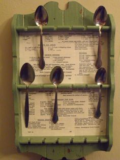 Re-do that old spoon rack