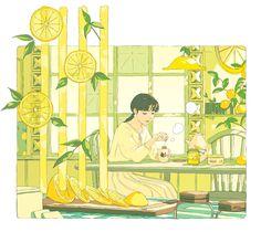 Illustration Mignonne, Aesthetic Drawing, Aesthetic Art, Aesthetic Anime, Aesthetic Pastel, Art Anime Fille, Anime Art Girl, Pretty Art, Character Design