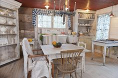 old timey kitchen - from Bronson Pinchot Project!!!