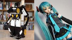 Two impressive hobby robot projects from Japan show what is possible with current consumer...