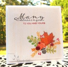 Autumn Blessings by cindybstampin - Cards and Paper Crafts at Splitcoaststampers