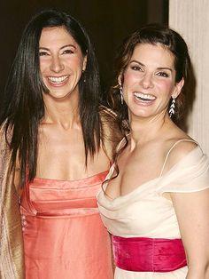 Famous Siblings: Sandra Bullock and sister, Gesine. I love Sandra bullock, one of my favorite actresses
